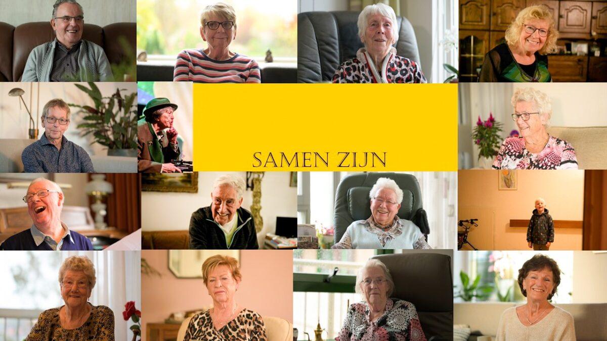 Videoclip Samen Zijn brengt jong en oud uit Capelle aan den IJssel bij elkaar