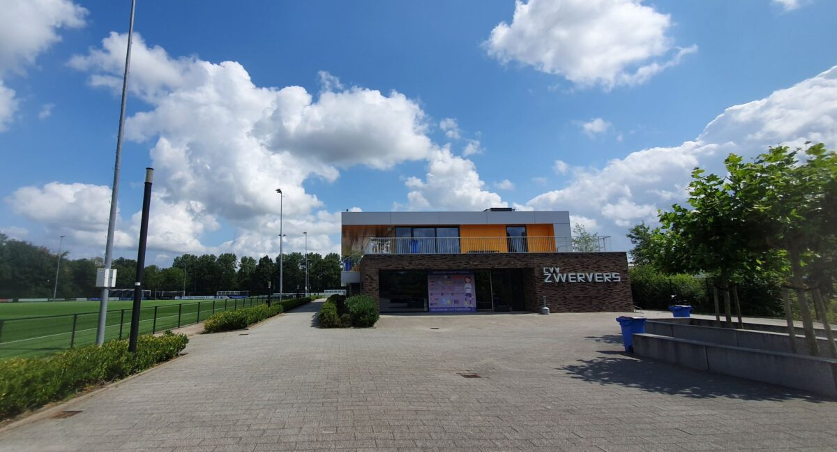 Goud voor Oud nu ook op de locatie van voetbalclub CVV Zwervers
